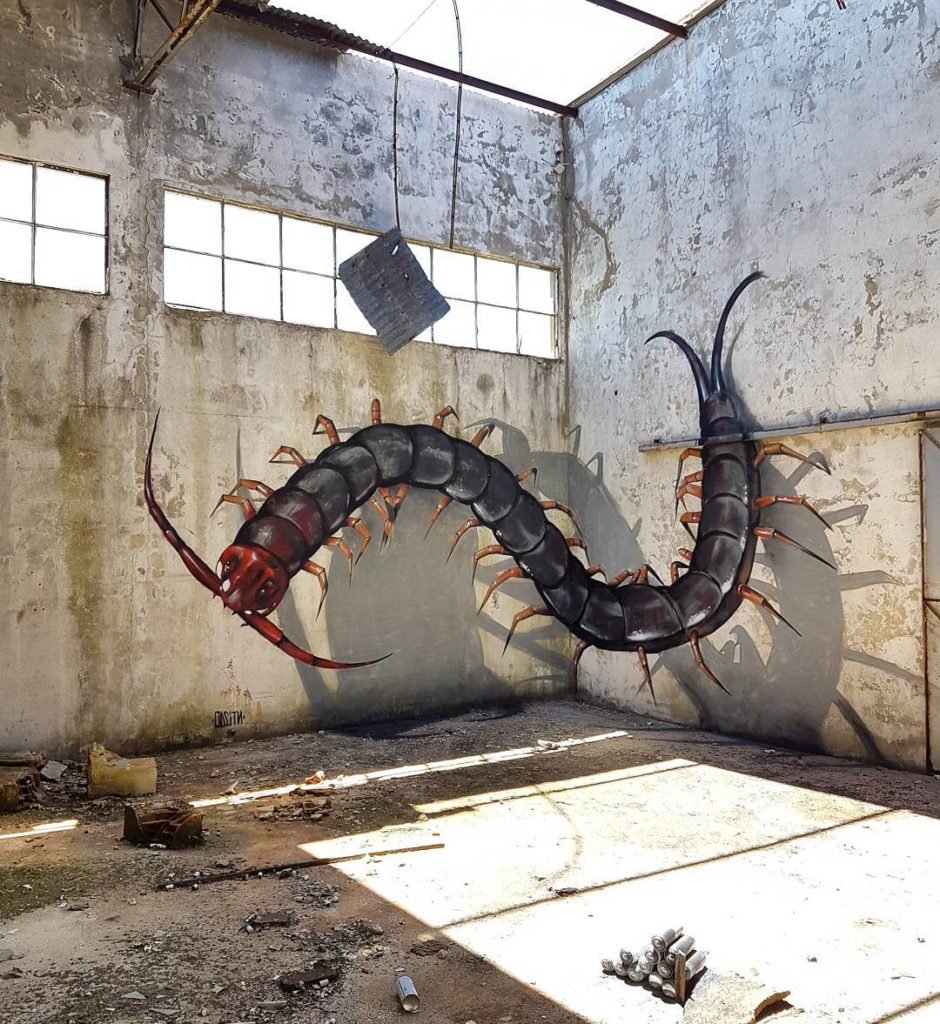 Mind-Boggling Anamorphic Art by Sergio Odeith